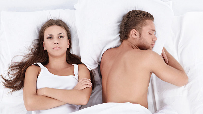 Очень редко хочется секса